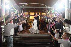 Beach Wedding Exit at Seabrook Island Resort | Seabrook Island Weddings