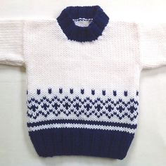 Baby knitwear – Hand knit baby sweater – 6 to 12 months – Knitted baby clothes – Baby shower gift – Infant sweater – Baby knits – Knitting world