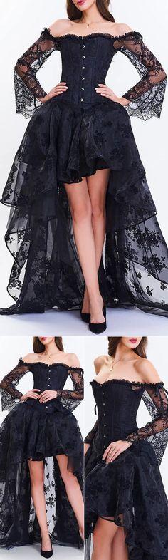 #gothicweddingdresses