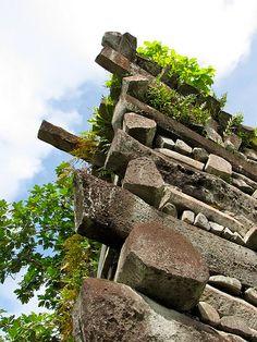 Nan Madol Ponape, Micronesia, via Flickr.