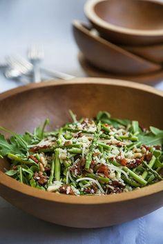 Salade de roquette et asperges #recettesduqc