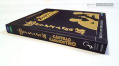 ¿Cómo es el digibook de #ElCastilloDeCagliostro de SelectaVisión?  Entrad aquí para verlo Cover, Books, Castles, Libros, Book, Book Illustrations, Libri