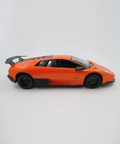 Another great find on #zulily! Orange Lamborghini Murcielago Superveloce Remote Control Car #zulilyfinds