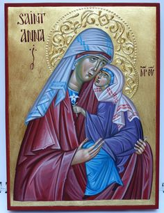 Anna icon by Georgi Chimev Saint A, Paint Icon, Queen Of Heaven, Orthodox Icons, Catholic, Disney Characters, Fictional Characters, Aurora Sleeping Beauty, Anna