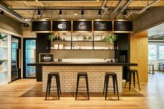 Bakery Design, Cafe Design, Restaurant Design, Restaurant Bar, Coffee Shop Counter, Cafe Counter, Bar Interior, Interior Design, Noodle Bar