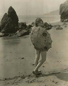 Thelma Todd #vintage #beach