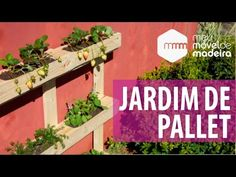 COMO FAZER FLOREIRA DE PALLETS - Móveis de Pallets #2 - YouTube