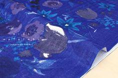 Nani Iro Kokka Japanese Fabric Fuccra : rakuen  H  50cm