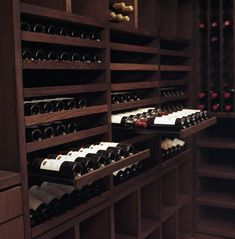 Custom Wine Cellar - Wenge Wood - 2200 Bottles