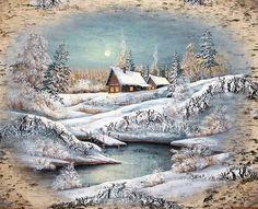 картина на бересте - Схемы вышивки - Светлана37 - Авторы - Портал «Вышивка крестом»