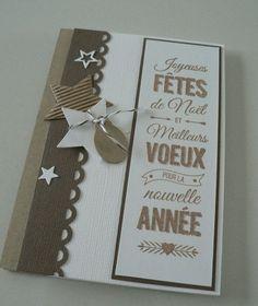 carte noel faite à la maison77 vie www.cartefaitmain.eu #carte #diy