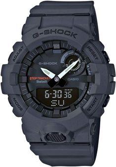G-Shock BABY-G Steptracker Bluetooth(R) Enabled Resin Strap Watch, 49mm