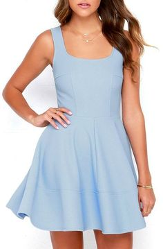 Best of New: Home Before Daylight Periwinkle Dress