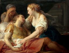 Cleopatra and the Dying Mark Antony by Pompeo Batoni - 1763 Quick question for y'all: What's the artist's biggest mistake in this painting? Francisco Goya, Cleopatra, Jean Antoine Watteau, Rennaissance Art, Mark Antony, Inspiration Artistique, National Gallery, Renaissance Paintings, Found Art