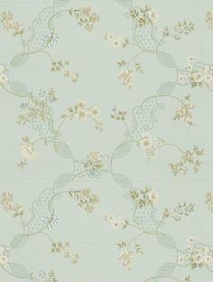 Sanderson's Anna Maria is taken from the Honfleur wallpaper collection and is in stock and available for purchase.