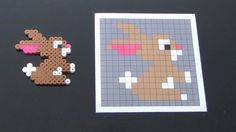 Crafts with ironing beads - 59 original ideas to imitate crafts crafts crafts para vender crafts Perler Bead Designs, Easy Perler Bead Patterns, Melty Bead Patterns, Perler Bead Templates, Hama Beads Design, Perler Bead Art, Perler Beads, Beading Patterns, Iron Beads