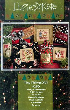 #150 Tiny Tidings XVI -- Click to see our finished model
