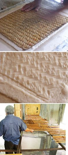 Amate handmade paper - textured, patterned paper making