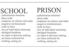 School - prison