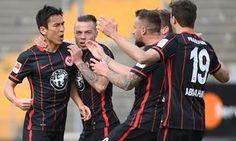 Eintracht applaud absent friends after derby win aids relegation fight