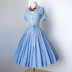 vintage 1950's dress classic FRITZI of CALIFORNIA 2pc by traven7, le sigh.