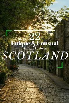 22 Unique And Unusual Things To Do In Scotland. Scotland needs to be moved up from its second tier status as a travel haven. Book your next trip and try these 22 things to do in Scotland! Scotland Travel Guide, Scotland Road Trip, Scotland Vacation, Ireland Travel, England And Scotland, Edinburgh Scotland, Scotland Food, Inverness Scotland, Oh The Places You'll Go