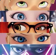 Adrien and Marinette have the most breathtaking eyes