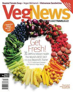 My favorite magazine! Vegan recipes & articles focused on animal rights.