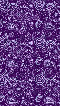 Skull Wallpaper Iphone, Cellphone Wallpaper, I Wallpaper, Pattern Wallpaper, Paisley Art, Paisley Design, Paisley Color, Love Graffiti, Purple Backgrounds
