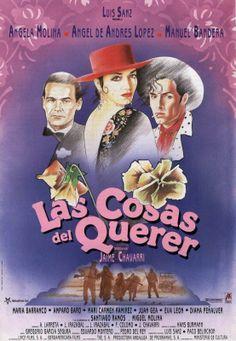 """Las cosas del querer"" (1989). Country: Spain. Director: Jaime Chávarri. Cast: Ángela Molina, Ángel de Andrés López, Manuel Bandera"