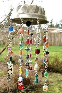 Hippie chic wind chime! by Cenika