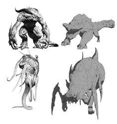 monster sketch