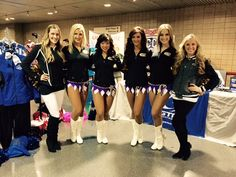 The Minnesota Cheerleaders were out with us at the MCCA. (2015)