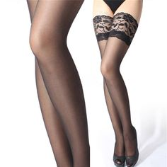 Get this Lingerie Stockings With Sheer Lace Top while it\\\'s hot     Only 20.33 + FREE Shipping Worldwide     Buy one here---> https://naughty-lingerie.shop/lingerie-stockings-with-sheer-lace-top/  #lingerie #sexy #body #beautiful #bra #fit #whitelingerie #sexylingerie #curvy #affordable #discount