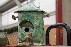 Birdhouses: site has chart of what size house and hole for certain birds.