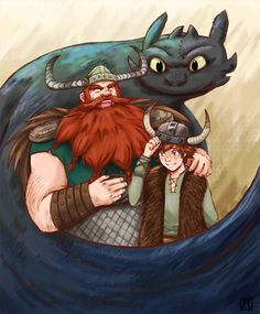 Laugh with me, my boy by piano-kun.deviantart.com on @deviantART < Stoick…