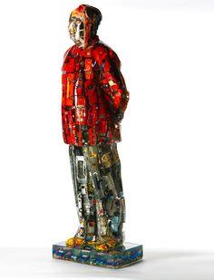 Title: Mao Debut Cars Artist: Alben #gallerynine5 #Alben #Accumulation #sculpture #resin #Mao