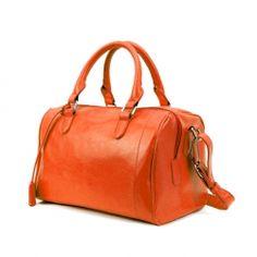 Soild Color and Buckle Design Women's Handbag $32.66