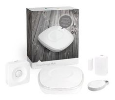 SmartThings Smart Home Starter Kit - wireless home security system favor one that autodials police or security office to discourage breakins and theft