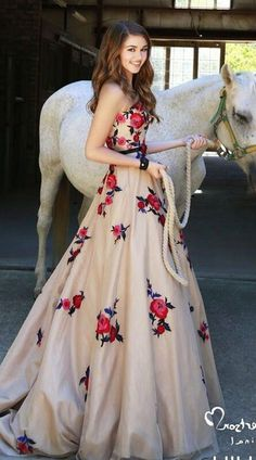 Sweetheart Long Train Prom Dress Wedding Dress,PD160242