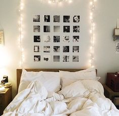 All about that black and white photo wall!