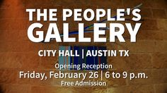 Coming Soon: The People's Gallery 2016 Exhibition