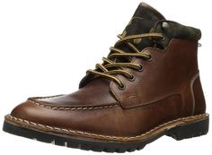 Steve Madden Men's Namesake Boot,Cognac,7 M US