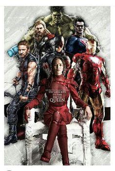 Katniss / Avengers