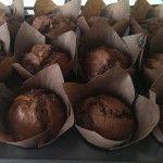 Fotorecept | Čokoládovo banánové muffiny - NajRecept.sk