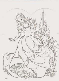 Sleeping Beauty Coloring Page