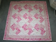 baby quilt ideas | Quilting Ideas | Project on Craftsy: baby girl quilt