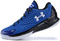 Under Armour Curry One Low Elite 24 Red Royal Blue White0