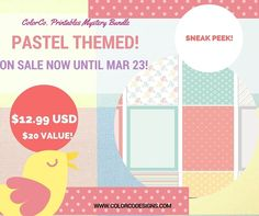 SNEAK PEEK of our #colorcobundle! This month our Printables Bundle theme is PASTELS! Don't miss out! TODAY IS THE LAST DAY! http://ift.tt/1l1r6p4 . . . #planneraddict #plannercommunity #planner #colorcodesigns #plannerspread #plannerlove #plannergoodies #plannerjunkie #plannercommunity #planners #plannernerd #plannerobssessed #plannergirl #plannerlife #erincondrenlifeplanner #eclp #happyplanner #mambi #plannerinspo #erincondren #stationerylover #plannerlust #halfweek #weeklylayout #fullweek…