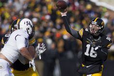 IOWA CITY — A couple of weeks after his brother, Tucker, earned a spot on the Billboard charts for the first time in his career, Iowa quarterback C. Beathard welcomes Iowa, Football, Music, Sports, How To Make, Soccer, American Football, Sport, Muziek